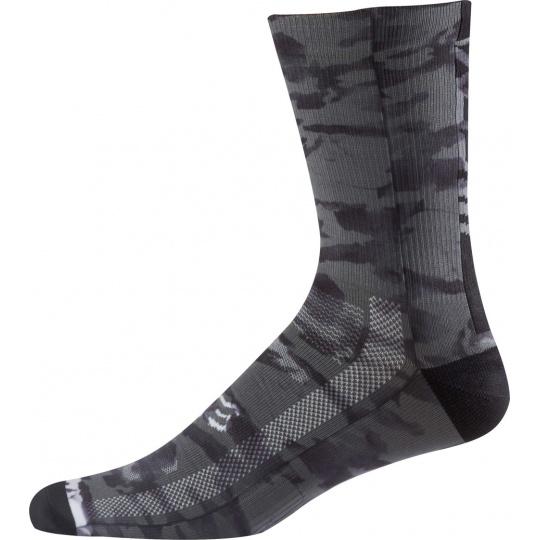 Cyklo ponožky Fox 8 Creo Trail Sock Black