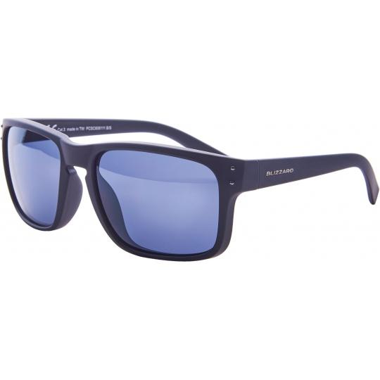 sluneční brýle BLIZZARD sun glasses PCC606111, black matt, 65-17-135