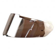 Plexi ASTONE GT3 s přípravou pro pinlock zrcadlově stříbrné