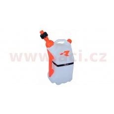 rychlotankovací kanystr R15 (objem 15 litrů), RTECH (oranžové doplňky)