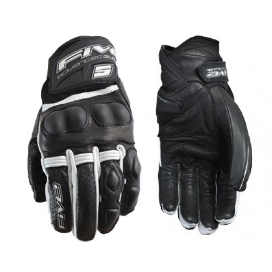 Moto rukavice FIVE X-RIDER černo/bílé