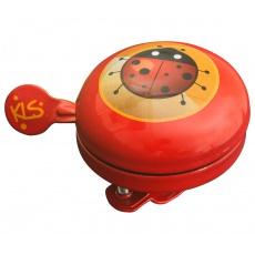 KELLYS Cyklistický Zvonek Bell 60 Kids Red