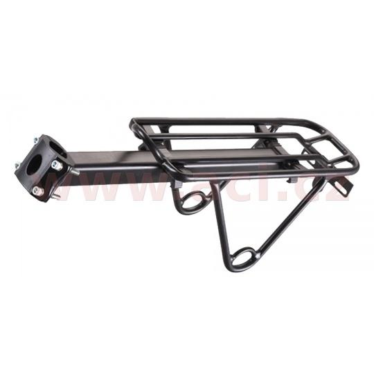 trubkový nosič brašen sedlový SEATPOST, OXFORD (pro průměr sedlové trubky 27,2 až 31,6mm, černý)