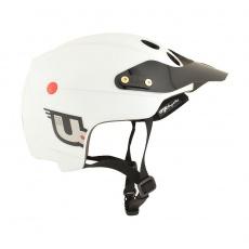 URGE Endur-O-matic White Mat  helma - bílá