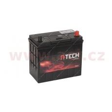 45Ah baterie, 340A, pravá A-TECH 238x129x225 (úzké póly)