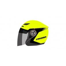 přilba Reflex Safety, CASSIDA (žlutá fluo/černá)