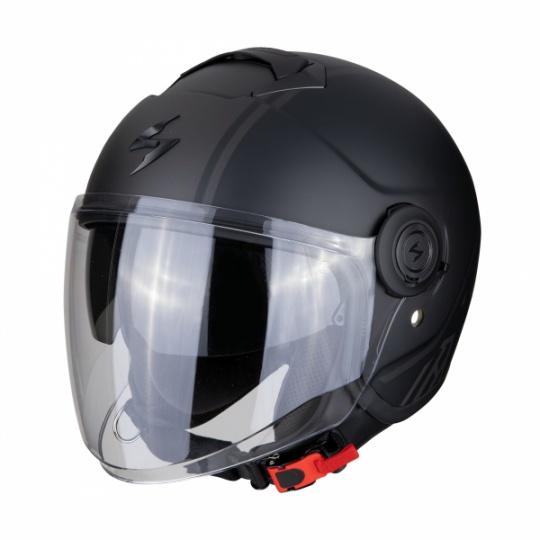 Moto přilba SCORPION EXO-CITY AVENUE matná černo/stříbrná