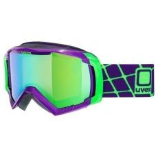 lyžařské brýle UVEX G.GL 100, dark purple/litemirror green (9926)