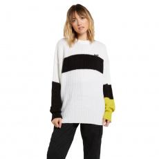 Dámský svetr Volcom Stormstone Sweater Black