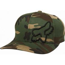 Dětská čepice Fox Youth Flex 45 Flexfit Hat Camo OS