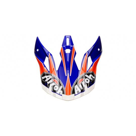 náhradní kšilt pro přilby AVIATOR EDGE, AIROH - Itálie (modrá)