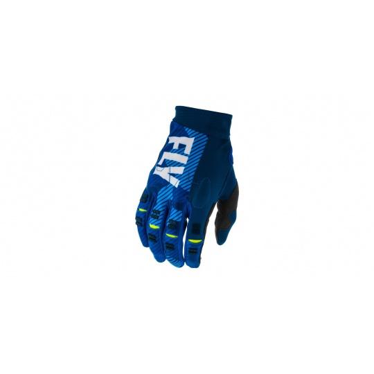 rukavice EVO 2020, FLY RACING (modrá/bílá)