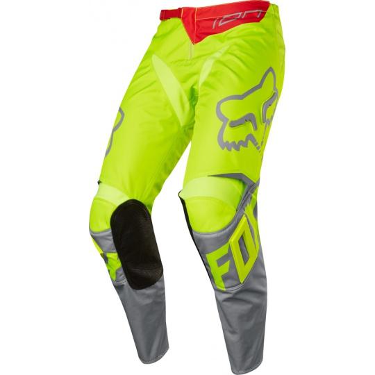 Pánské MX kalhoty FOX 180 Race Pant Yellow 2017