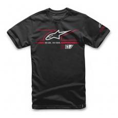 Alpinestars tričko Fast Star černé - Black - velikost XL