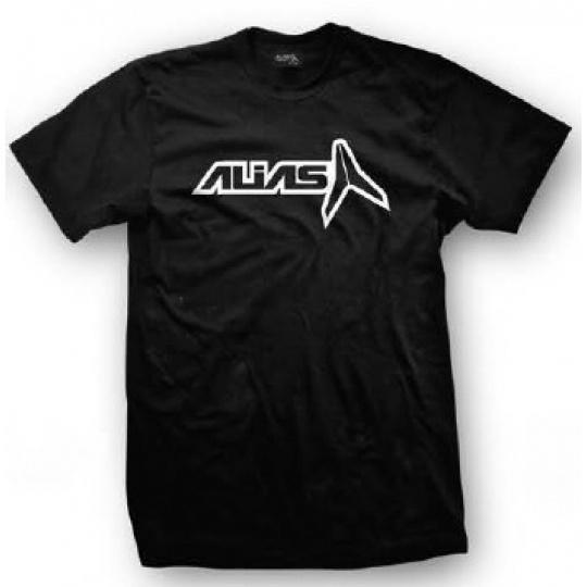 Triko ALIAS MX HOLLOWED černé/bílé