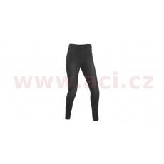 ZKRÁCENÉ kalhoty JEGGINGS, OXFORD, dámské (legíny s Kevlar® podšívkou, černé)