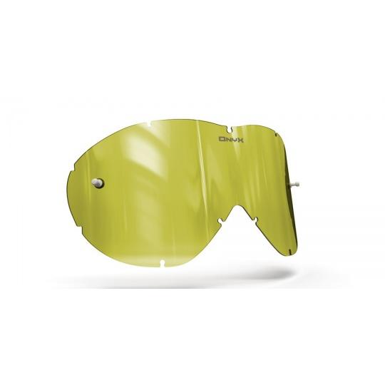 plexi pro brýle SMITH SONIC, ONYX LENSES (Hi-Vis žluté s polarizací)