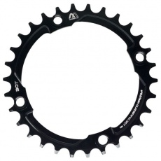 e*thirteen | Guidering | 104mm BCD | 30T | Std. Chainline | Black | 10/11/12spd Compatible