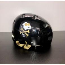 Dětská helma ABUS černá S/M