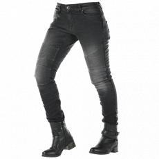 Dámské kevlarové moto kalhoty OVERLAP IMOLA JEANS černé