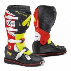Moto boty FORMA TERRAIN TX černo/žluté fluo/červené