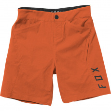 Dětské cyklo šortky Fox Yth Ranger Short Blood Orange