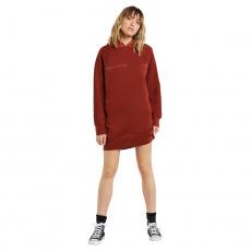 Dámské šaty Volcom Needeet Dress Brick