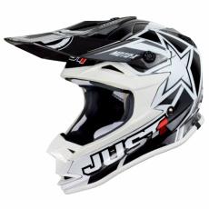 Dětská moto přilba JUST1 J32 MOTO X bílá