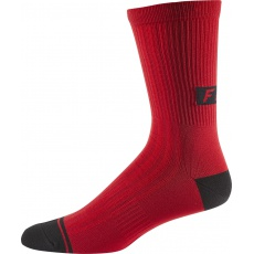 Cyklo ponožky Fox 8  Trail Sock Cardinal