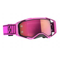 brýle PROSPECT, SCOTT - USA (růžová/černá , růžové chrom plexi)