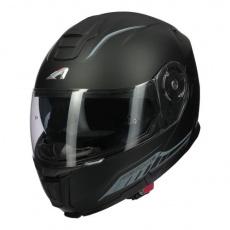 Moto přilba ASTONE RT1200 EVO DARK SIDE matná černo/tmavě šedá
