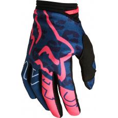 Dětské MX rukavice Fox Yth Girls 180 Skew Glove Dark Indigo