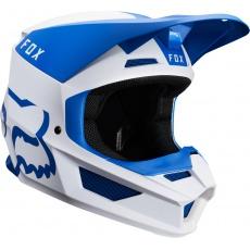 Pánská MX helma Fox V1 Mata Helmet Blue/White