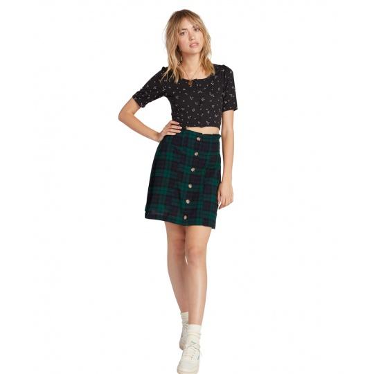 Dámská sukně Volcom Untamed Feels kirt Green