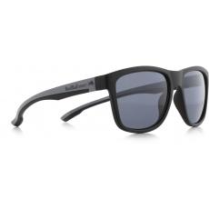 sluneční brýle RED BULL SPECT Sun glasses, BUBBLE-001, black, black, smoke POL, 54-17-145