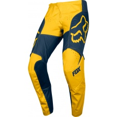 Pánské MX kalhoty Fox 180 Przm Pant Navy/Yellow