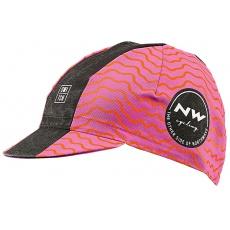 Pánská čepice Northwave Switch Cap Pink/Orange