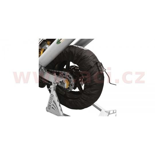 nahříváky pneu s LCD displejem a dvěma režimy nastavení, OXFORD (černé, pár)