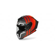 přilba GP 550S SKYLINE, AIROH - Itálie (černá/oranžová-matná) 2021