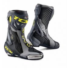 Moto boty TCX RT-RACE PRO AIR černo/šedo/žluté fluo