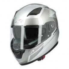 Moto přilba ASTONE GT900 RACE stříbrná