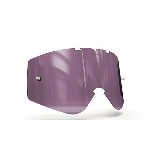 plexi pro brýle O'NEAL B-ZERO, ONYX LENSES (fialové s polarizací)
