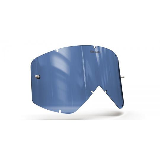 plexi pro brýle SMITH FUEL/INTAKE, ONYX LENSES (modré s polarizací)