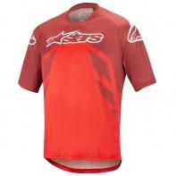 Alpinestars Racer V2 SS Kol Jersey Burgundy Red White