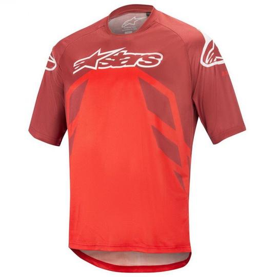 Alpinestars Racer Jersey V2 S/S Burgundy Red/White