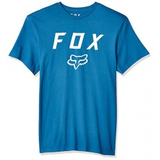 Pánské triko Fox Legacy Moth Ss Tee Dst Blue - S