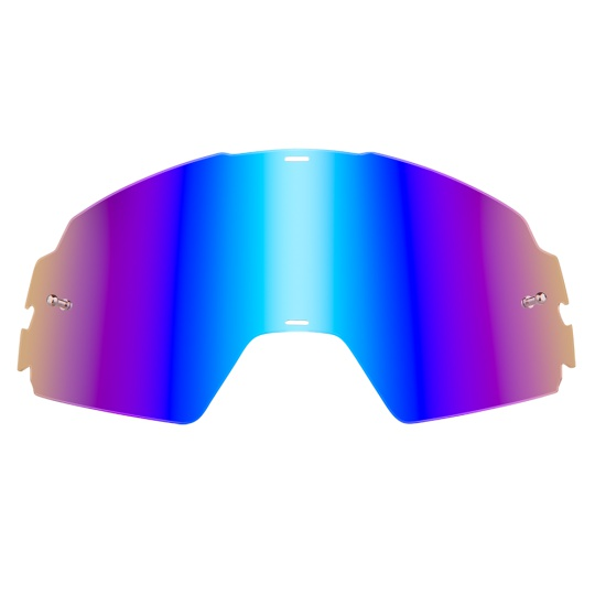 Náhradní sklo pro O´Neal B20 radium modrá, vč. pinů