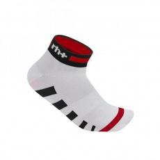 ponožky RH+ Ergo Sock 3, white/red/black