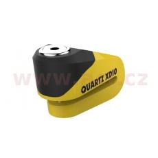 zámek kotoučové brzdy Quartz XD10, OXFORD (žlutý/černý, průměr čepu 10 mm)