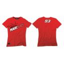 Dámské triko MARC MARQUEZ červené 101807